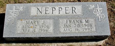 NEPPER, FRANK & MARY - Woodbury County, Iowa | FRANK & MARY NEPPER