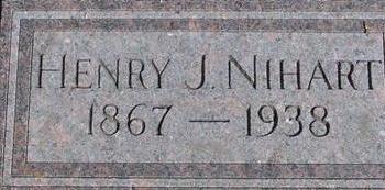 NIHART, HENRY J. - Woodbury County, Iowa | HENRY J. NIHART