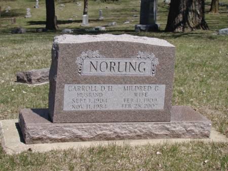 PETERSON NORLING, GENEVA MILDRED - Woodbury County, Iowa | GENEVA MILDRED PETERSON NORLING
