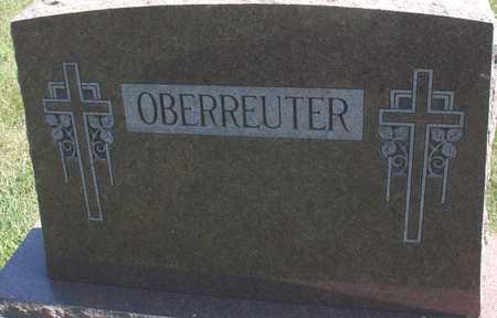 OBERREUTER, FAMILY MARKER - Woodbury County, Iowa | FAMILY MARKER OBERREUTER