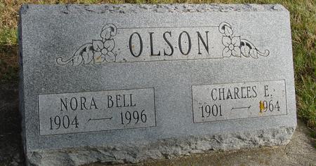 OLSON, CHARLES & NORA BELL - Woodbury County, Iowa   CHARLES & NORA BELL OLSON