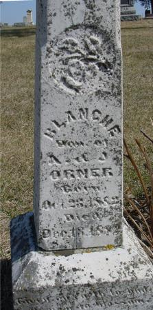 ORNER, BLANCHE - Woodbury County, Iowa | BLANCHE ORNER
