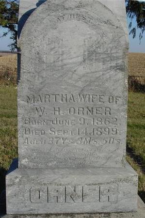 ORNER, MARTHA - Woodbury County, Iowa | MARTHA ORNER