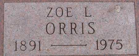ORRIS, ZOE L. - Woodbury County, Iowa | ZOE L. ORRIS