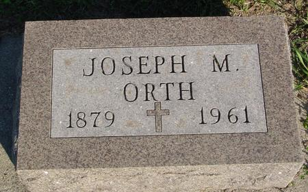 ORTH, JOSEPH M. - Woodbury County, Iowa | JOSEPH M. ORTH