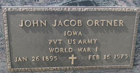 ORTNER, JOHN JACOB - Woodbury County, Iowa | JOHN JACOB ORTNER
