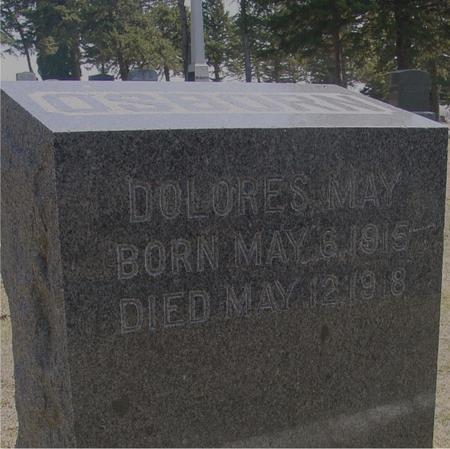 OSBORN, DOLORES MAY - Woodbury County, Iowa   DOLORES MAY OSBORN