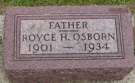 OSBORN, ROYCE H. - Woodbury County, Iowa   ROYCE H. OSBORN
