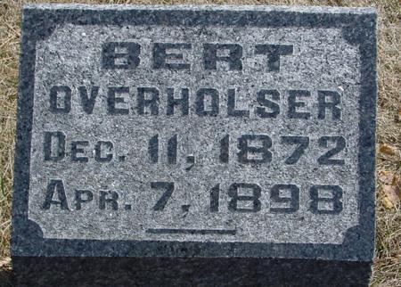 OVERHOLSER, BERT - Woodbury County, Iowa | BERT OVERHOLSER