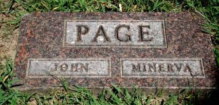 PAGE, JOHN - Woodbury County, Iowa   JOHN PAGE