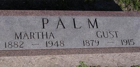 PALM, GUST & MARTHA - Woodbury County, Iowa | GUST & MARTHA PALM