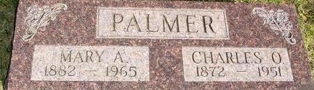 PALMER, CHARLES O & MARY A. - Woodbury County, Iowa | CHARLES O & MARY A. PALMER