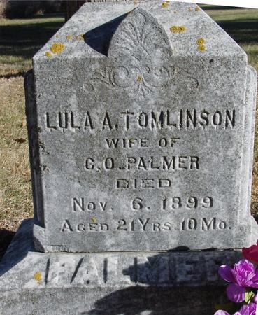 TOMLINSON PALMER, LULA A. - Woodbury County, Iowa | LULA A. TOMLINSON PALMER