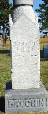 PATCHIN, CHARLES D. - Woodbury County, Iowa | CHARLES D. PATCHIN