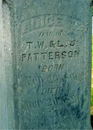 PATTERSON, ALICE A. - Woodbury County, Iowa | ALICE A. PATTERSON