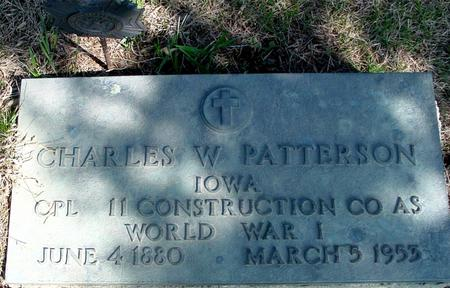 PATTERSON, CHARLES W. - Woodbury County, Iowa | CHARLES W. PATTERSON