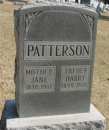 PATTERSON, HARRY & JANE - Woodbury County, Iowa | HARRY & JANE PATTERSON