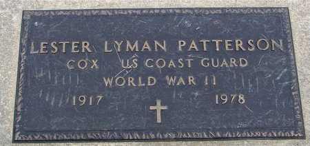 PATTERSON, LESTER LYMAN - Woodbury County, Iowa   LESTER LYMAN PATTERSON