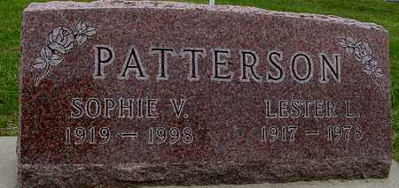 PATTERSON, LESTER L. & SOPHIE - Woodbury County, Iowa   LESTER L. & SOPHIE PATTERSON