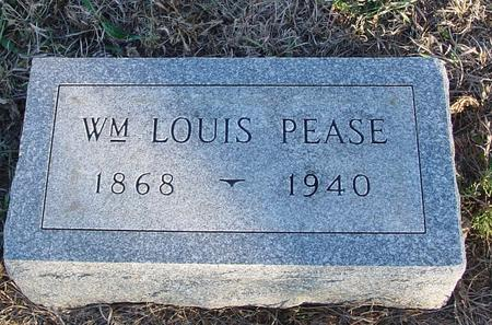 PEASE, WILLIAM LOUIS - Woodbury County, Iowa | WILLIAM LOUIS PEASE