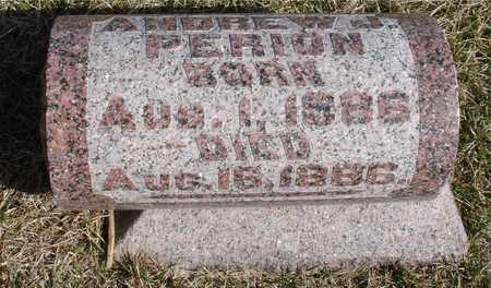 PERION, ANDREW W. J. - Woodbury County, Iowa   ANDREW W. J. PERION
