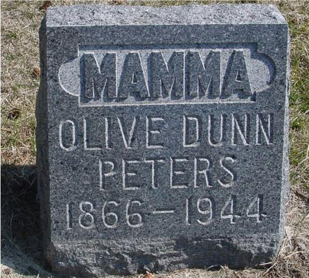 PETERS, OLIVE - Woodbury County, Iowa | OLIVE PETERS