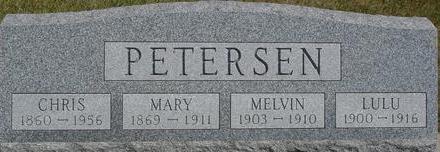 PETERSEN, CHRIS & MARY - Woodbury County, Iowa | CHRIS & MARY PETERSEN