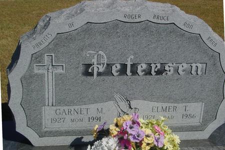 PETERSEN, ELMER & GARNET - Woodbury County, Iowa | ELMER & GARNET PETERSEN