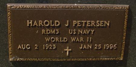 PETERSEN, HAROLD J. - Woodbury County, Iowa | HAROLD J. PETERSEN