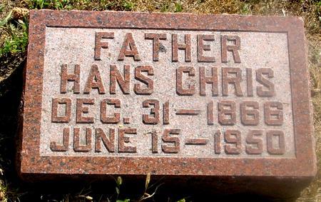 PETERSEN, HANS CHRIS - Woodbury County, Iowa | HANS CHRIS PETERSEN