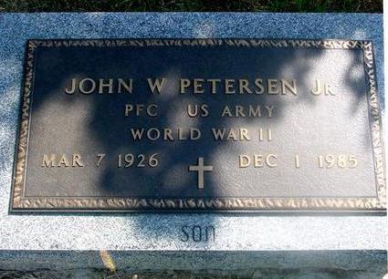 PETERSEN, JOHN W.  JR. - Woodbury County, Iowa | JOHN W.  JR. PETERSEN