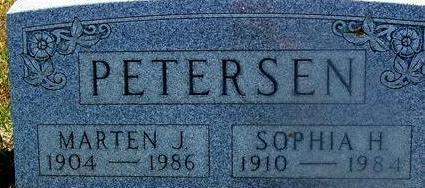 PETERSEN, MARTEN & SOPHIA - Woodbury County, Iowa   MARTEN & SOPHIA PETERSEN