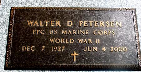 PETERSEN, WALTER D. - Woodbury County, Iowa   WALTER D. PETERSEN