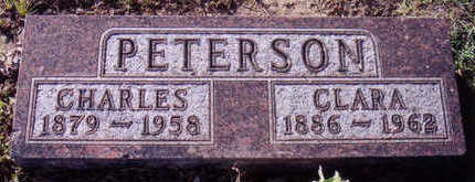 PETERSON, CHARLES - Woodbury County, Iowa | CHARLES PETERSON