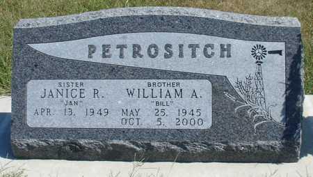 PETROSITCH, WILLIAM A. - Woodbury County, Iowa | WILLIAM A. PETROSITCH