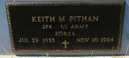 PITHAN, KEITH M. - Woodbury County, Iowa   KEITH M. PITHAN