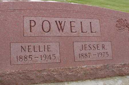 POWELL, JESSE & NELLIE - Woodbury County, Iowa | JESSE & NELLIE POWELL