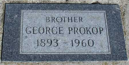 PROKOP, GEORGE - Woodbury County, Iowa | GEORGE PROKOP