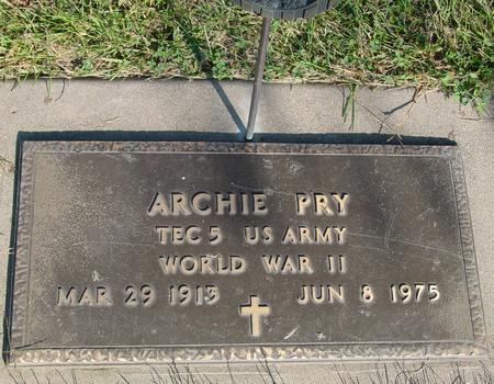 PRY, ARCHIE - Woodbury County, Iowa | ARCHIE PRY