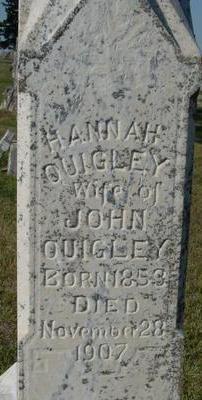 QUIGLEY, HANNAH - Woodbury County, Iowa   HANNAH QUIGLEY