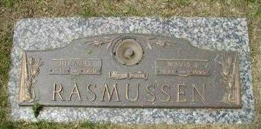 RASMUSSEN, HIRAM O - Woodbury County, Iowa   HIRAM O RASMUSSEN