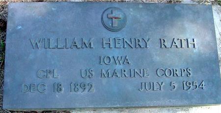 RATH, WILLIAM HENRY - Woodbury County, Iowa | WILLIAM HENRY RATH