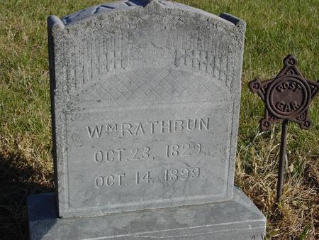 RATHBUN, WILLIAM - Woodbury County, Iowa | WILLIAM RATHBUN