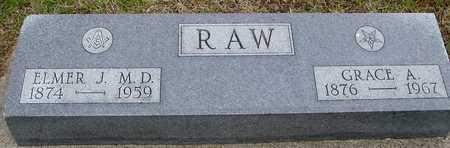 RAW, ELMER J. & GRACE A. - Woodbury County, Iowa | ELMER J. & GRACE A. RAW