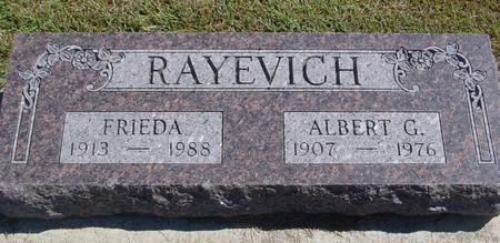 RAYEVICH, ALBERT & FRIEDA - Woodbury County, Iowa | ALBERT & FRIEDA RAYEVICH