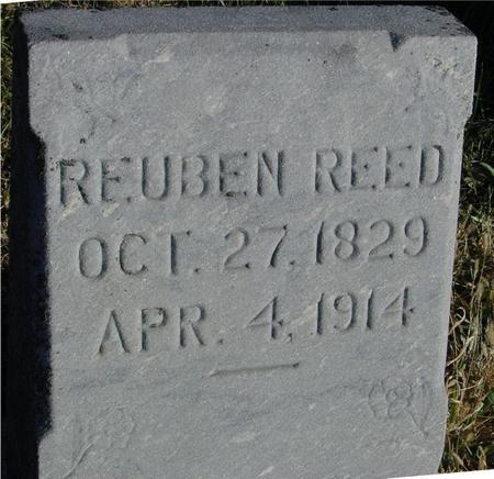 REED, REUBEN - Woodbury County, Iowa   REUBEN REED