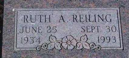 REILING, RUTH A. - Woodbury County, Iowa | RUTH A. REILING