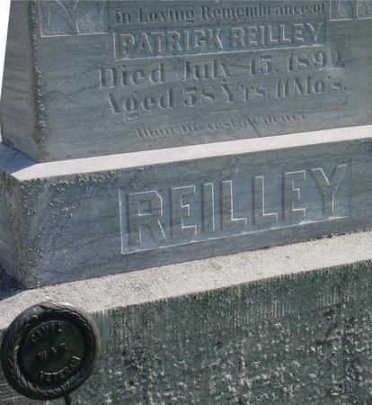 REILLEY, PATRICK - Woodbury County, Iowa   PATRICK REILLEY