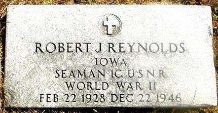 REYNOLDS, ROBERT J. - Woodbury County, Iowa | ROBERT J. REYNOLDS