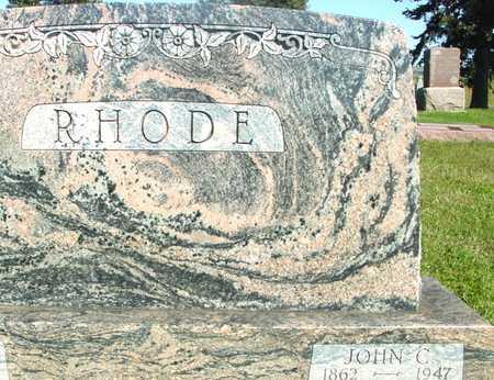 RHODE, JOHN - Woodbury County, Iowa | JOHN RHODE